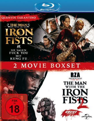 The Man with the Iron Fists 1 & 2 - 2 Movie Boxset (2 Blu-rays)