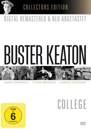Buster Keaton - College (1927) (b/w, Collector's Edition, Remastered)