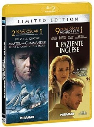 Master and Commander / Il paziente inglese (Limited Edition, 2 Blu-rays)
