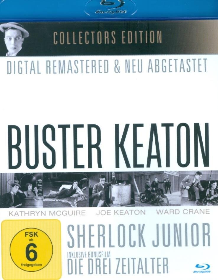 Buster Keaton - Sherlock Junior (s/w, Collector's Edition)