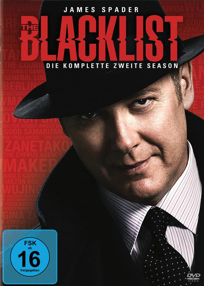 The Blacklist - Staffel 2 (5 DVDs)