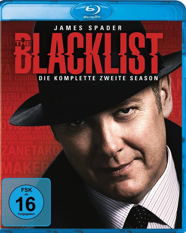 The Blacklist - Staffel 2 (6 Blu-rays)