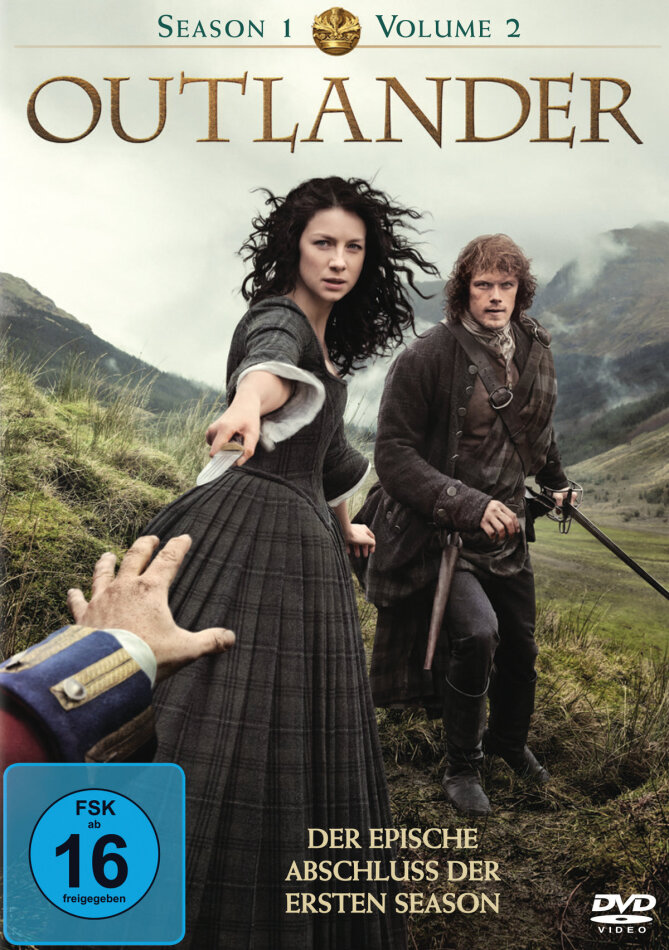 Outlander - Staffel 1.2 (3 DVDs)