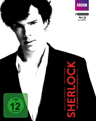 Sherlock - Staffel 1-3 (BBC, 7 Blu-rays)