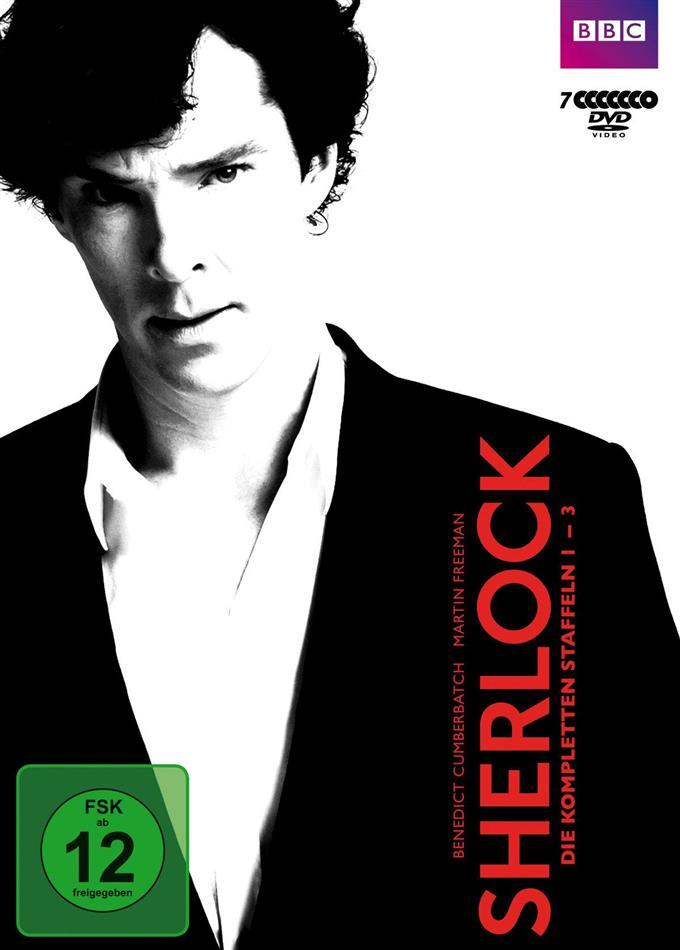 Sherlock - Staffel 1-3 (BBC, 7 DVDs)