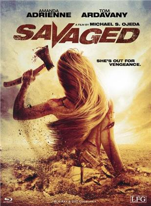 Savaged (2013) (Limited Edition, Mediabook, Uncut, Blu-ray + DVD)