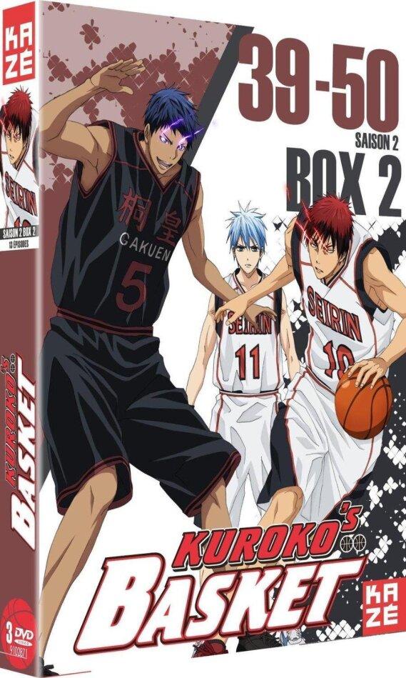 Kuroko's Basket - Season 2 Box 2 (3 DVDs)