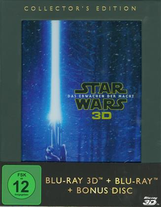 Star Wars - Episode 7 - Das Erwachen der Macht (2015) (Collector's Edition, Blu-ray 3D + 2 Blu-rays)