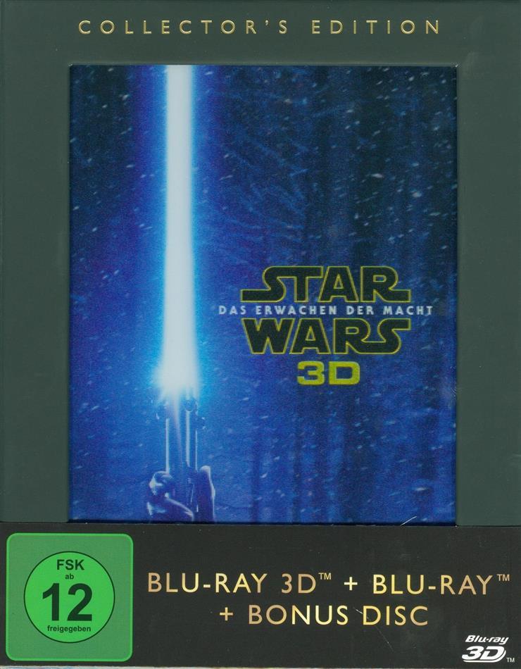 Star Wars - Episode 7 - Das Erwachen der Macht (2015) (Collector's Edition, Blu-ray 3D + 2 Blu-ray)