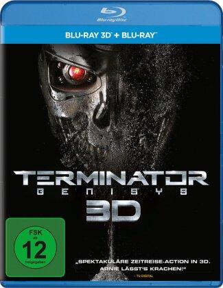 Terminator 5 - Genisys (2015) (Blu-ray 3D + Blu-ray)