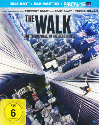 The Walk (2015) (Blu-ray 3D + Blu-ray)