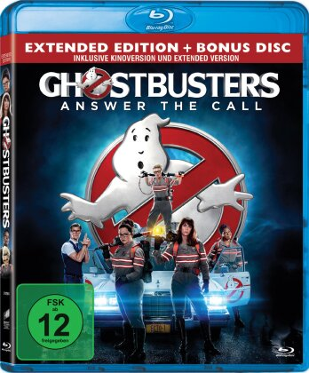 Ghostbusters (2016) (Extended Edition, Kinoversion, 2 Blu-rays)