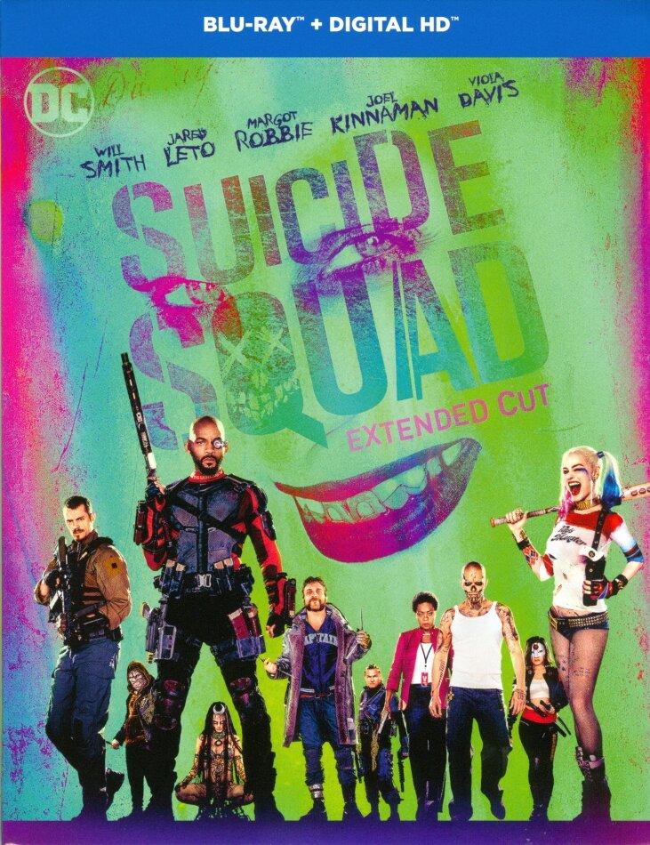 Suicide Squad (2016) (Versione Lunga, Versione Cinema, 2 Blu-ray)