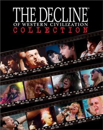 Fear, Black Flag, Germs, X, Circle Jerks, … - The Decline of Western Civilization (Box, 4 Blu-rays)