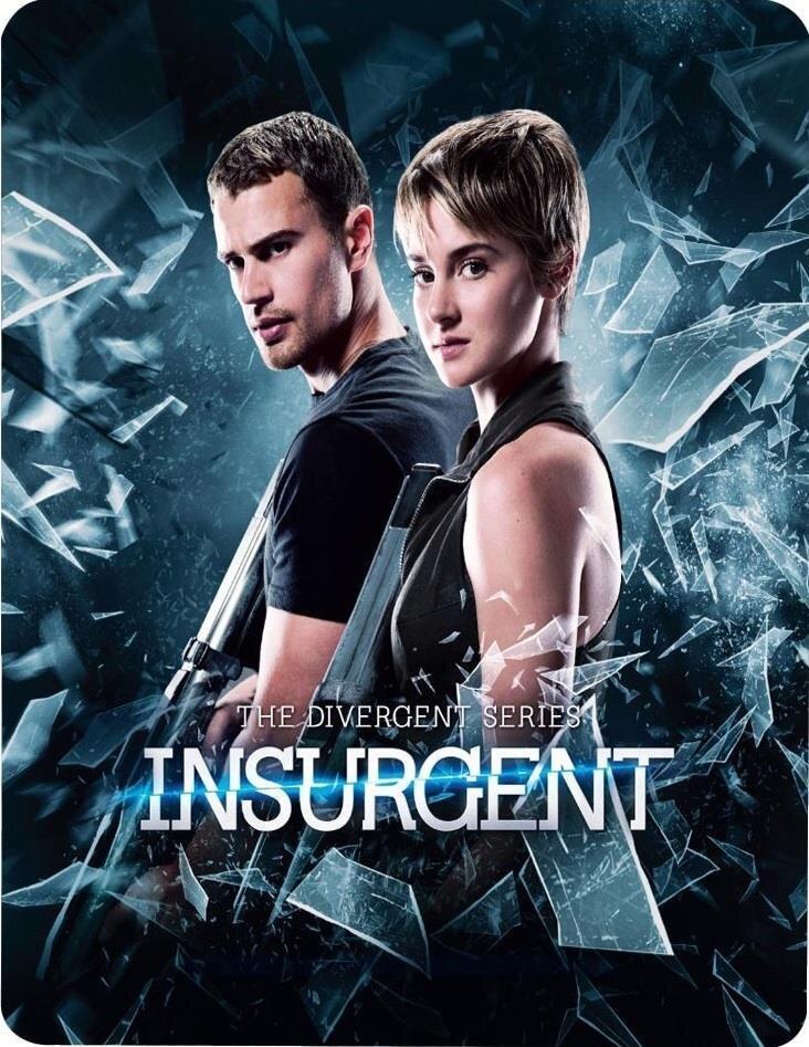 Insurgent - Divergent 2 (2014) (Steelbook, Blu-ray 3D (+2D) + Blu-ray)