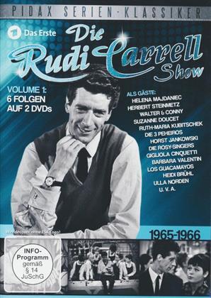 Die Rudi Carrell Show - 1965 - 1966 (Pidax Serien-Klassiker, b/w, 2 DVDs)