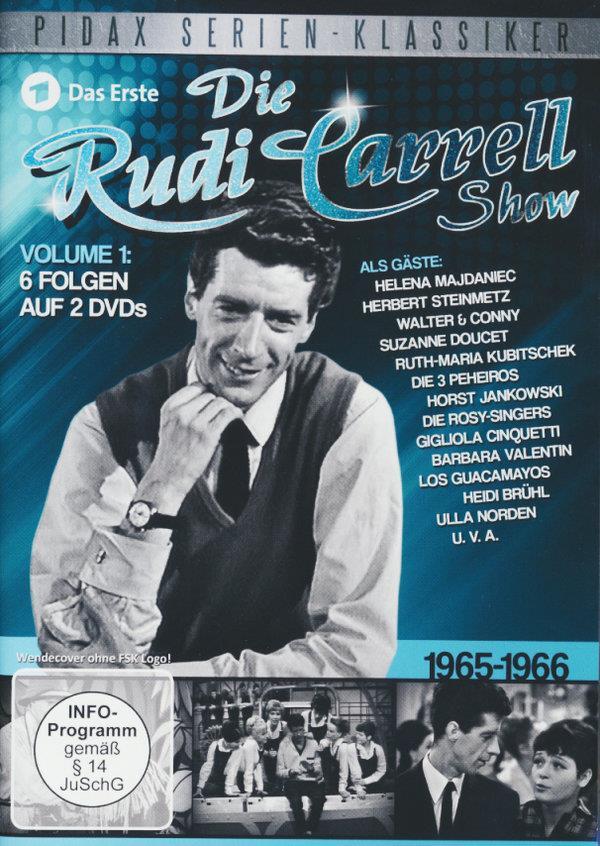 Die Rudi Carrell Show - 1965 - 1966 (Pidax Serien-Klassiker, s/w, 2 DVDs)