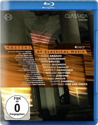 Various Artists - Masters of Classical Music (Euroarts, 4 Blu-rays)
