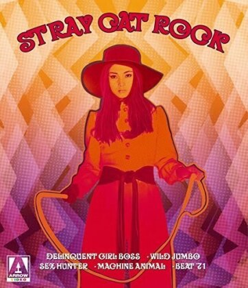 Stray Cat Rock - The Collection (Limited Edition, 3 Blu-rays + 2 DVDs)