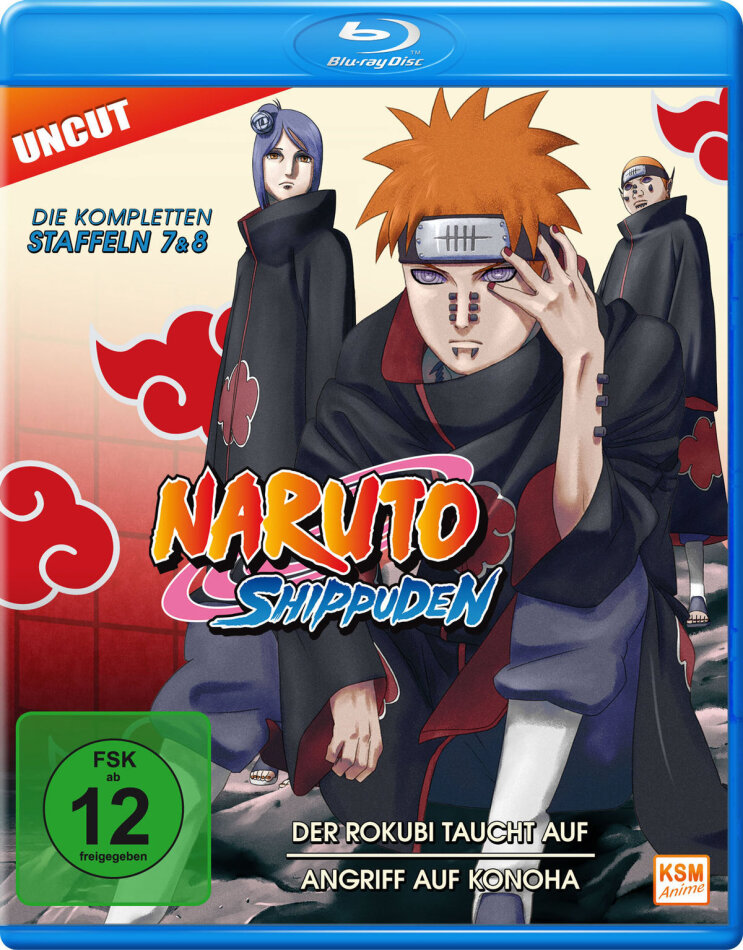 Naruto Shippuden - Staffel 7 & 8 (Uncut)