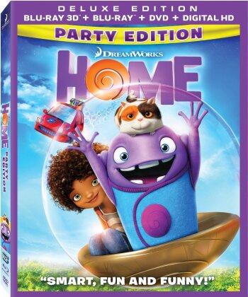 Home (2015) (Blu-ray 3D (+2D) + Blu-ray + DVD)