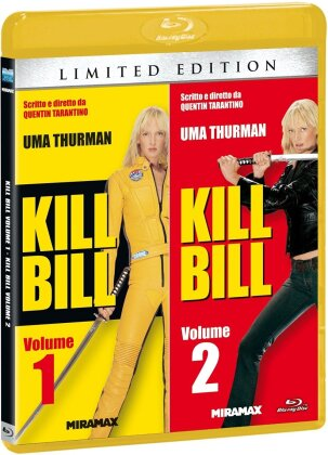 Kill Bill - Vol. 1 & 2 (Edizione Limitata, 2 Blu-ray)