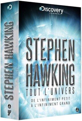Coffret Stephen Hawking - Tout l'univers (3 DVDs)