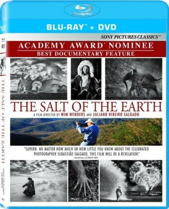 The Salt of the Earth (2014) (Blu-ray + DVD)