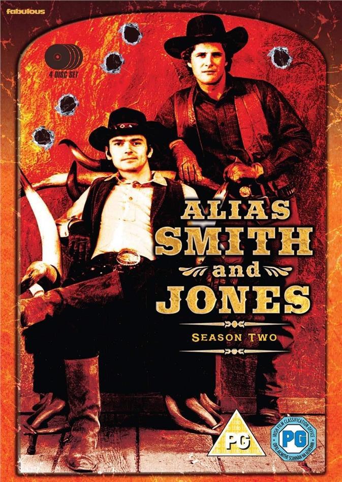 Alias Smith and Jones - Season 2 (4 DVDs)