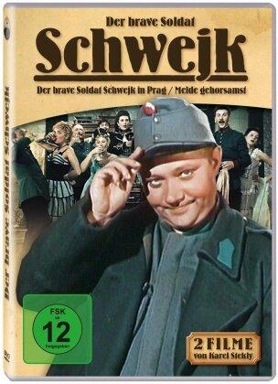 Der brave Soldat Schwejk - Der brave Soldat Schwejk in Prag / Melde gehorsamst (2 DVDs)