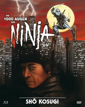 Die 1000 Augen der Ninja (1985) (Cover B, Limited Edition, Mediabook, Uncut, Blu-ray + DVD)