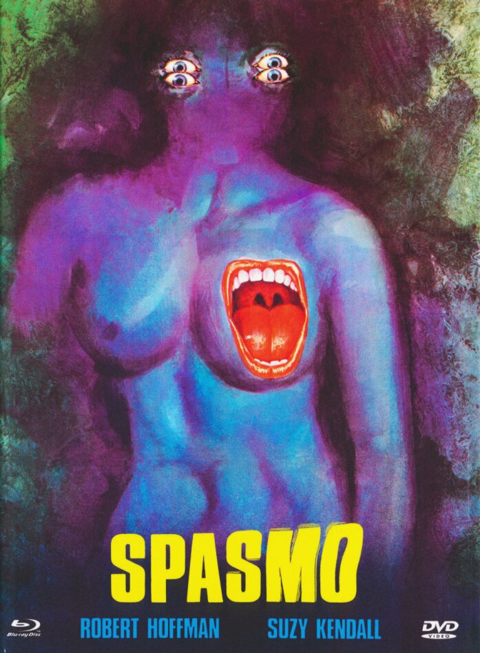 Spasmo (1974) (Cover A, Eurocult Collection, Giallo Serie, Limited Edition, Mediabook, Uncut, Blu-ray + DVD)