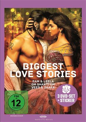 Biggest Love Stories (3 DVD)