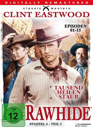Rawhide - Staffel 5.1 (Classic Western, Remastered, s/w, 4 DVDs)