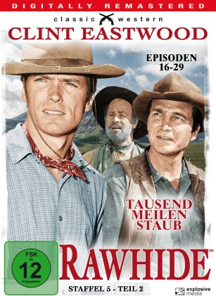 Rawhide - Staffel 5.2 (Classic Western, Remastered, s/w, 4 DVDs)