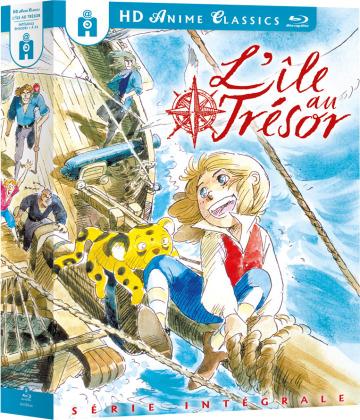 L'île au trésor - Intégrale (1978) (Anime Classics, 3 Blu-ray)