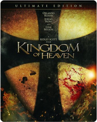 Kingdom Of Heaven (2005) (Steelbook, Ultimate Edition, 2 Blu-rays)