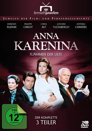 Anna Karenina - Flammen der Liebe (1995) (Filmjuwelen, 2 DVDs)