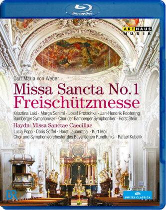 Symphonieorchester des Bayerischen Rundfunks, Horst Stein, … - Weber - Missa Sancta No. 1 Freischützmesse / Haydn - Missa Sanctae Caeciliae (Arthaus Musik)