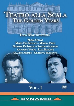 Orchestra of the Teatro alla Scala - The Golden Years - Enzo Biagi Interviews - Vol. 1 (Dynamic)