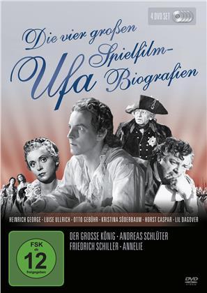 Die vier grossen UFA Spielfilm-Biografien (s/w, 4 DVDs)