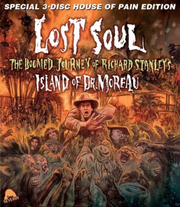 Lost Soul - The Doomed Journey of Richard Stanley's Island of Dr. Moreau (2014) (Special House of Pain Edition, Blu-ray + DVD + CD)