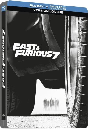 Fast & Furious 7 (2015) (Versione Lunga, Steelbook)