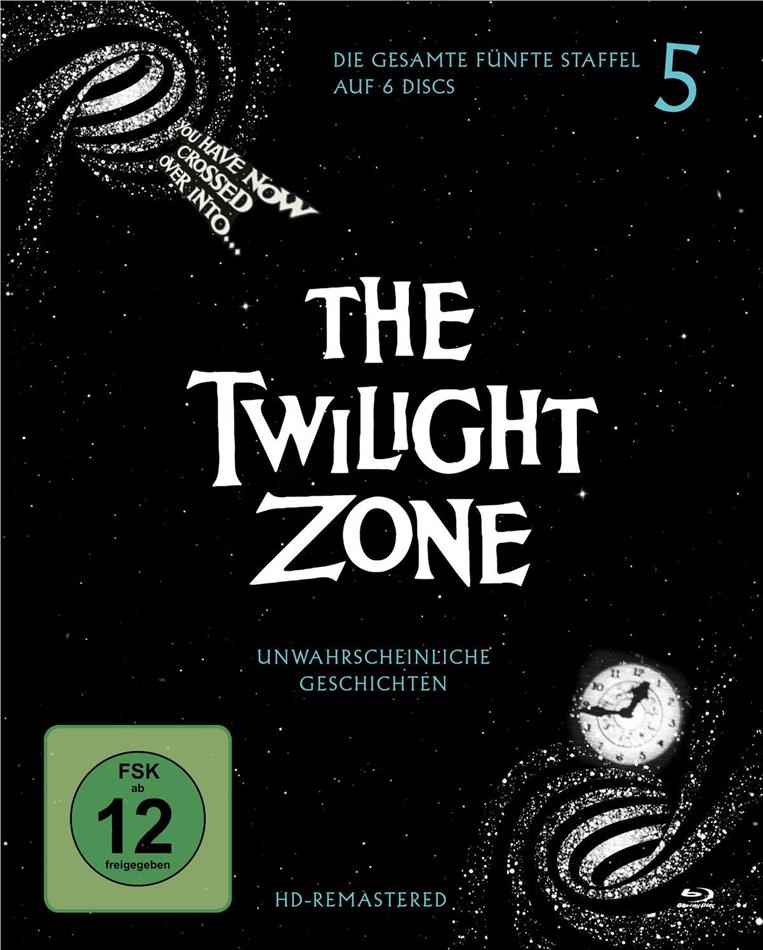The Twilight Zone - Staffel 5 (s/w, Remastered, 6 Blu-rays)