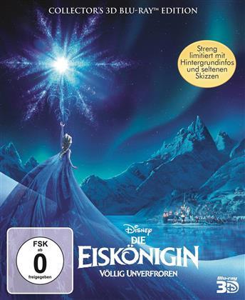 Die Eiskönigin - Völlig unverfroren (2013) (Digibook, Collector's Edition Limitata, Blu-ray 3D + Blu-ray)