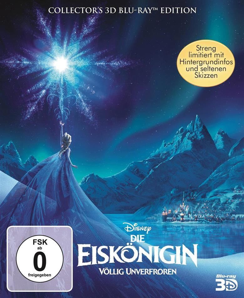 Die Eiskönigin - Völlig unverfroren (2013) (Digibook, Limited Collector's Edition, Blu-ray 3D + Blu-ray)