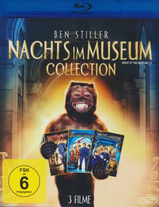 Nachts im Museum Collection (3 Blu-rays)