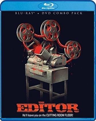 The Editor (2014) (Blu-ray + DVD)