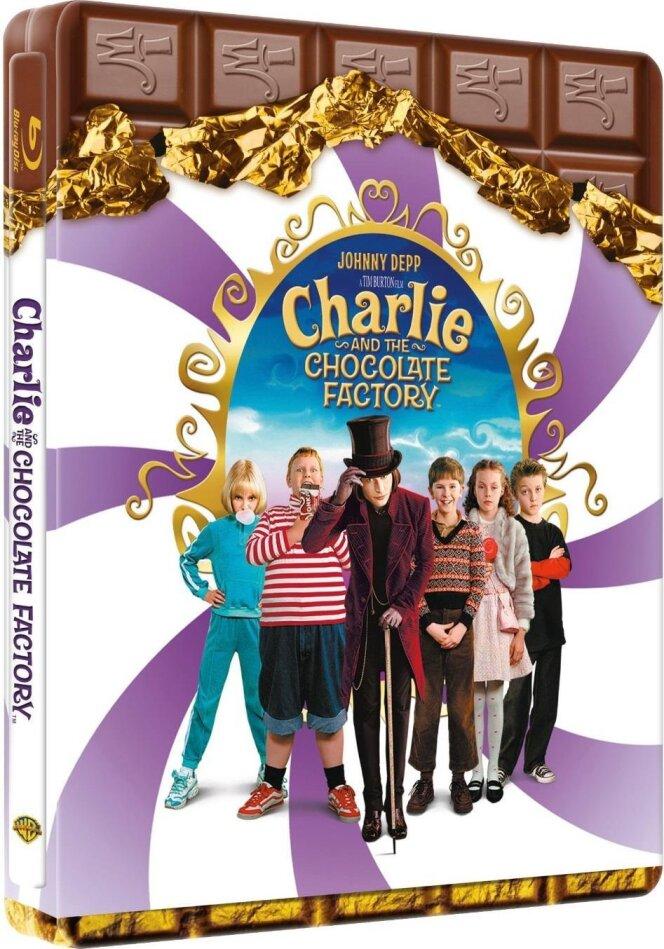 Charlie et la Chocolaterie (2005) (Steelbook)
