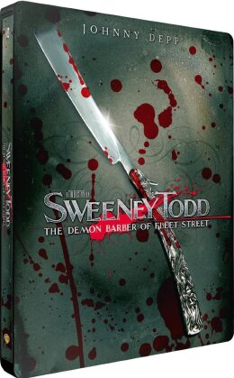 Sweeney Todd - The Demon Barber of Fleet Street (2007) (Steelbook)